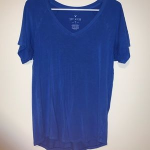 American Eagle Soft & Sexy Blue Tee